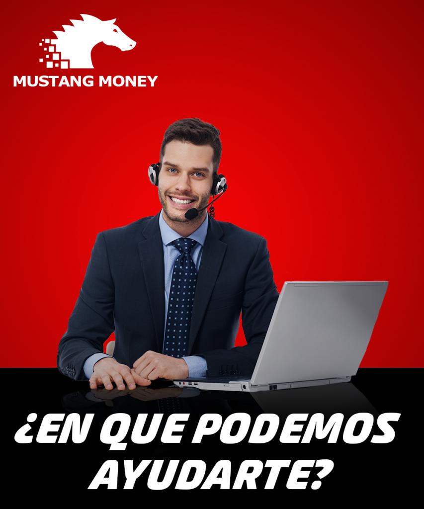 Servicio al cliente Mustang Money