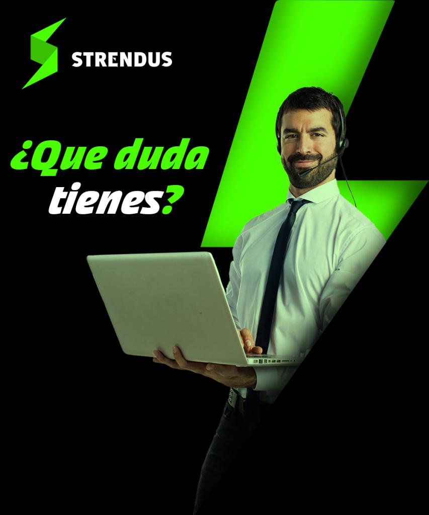 Servicio al cliente Strendus