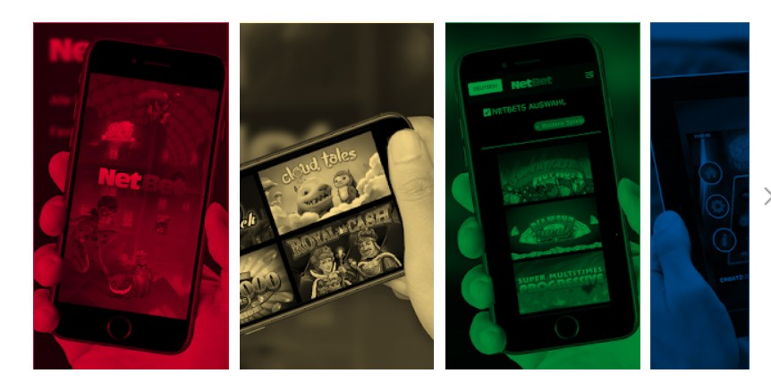 app móvil de NetBet
