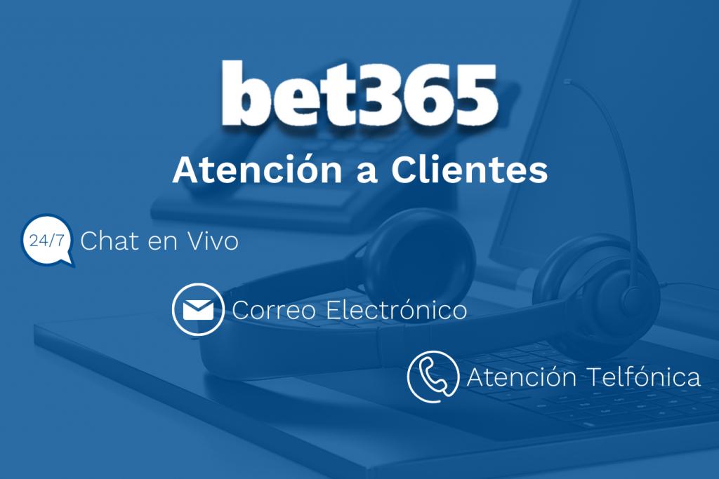 Servicio al cliente Bet365
