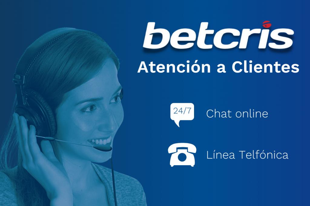 Servicio al cliente Betcris
