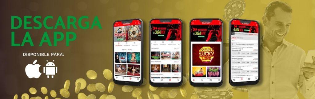 App de playdoit disponible para iOS y Android
